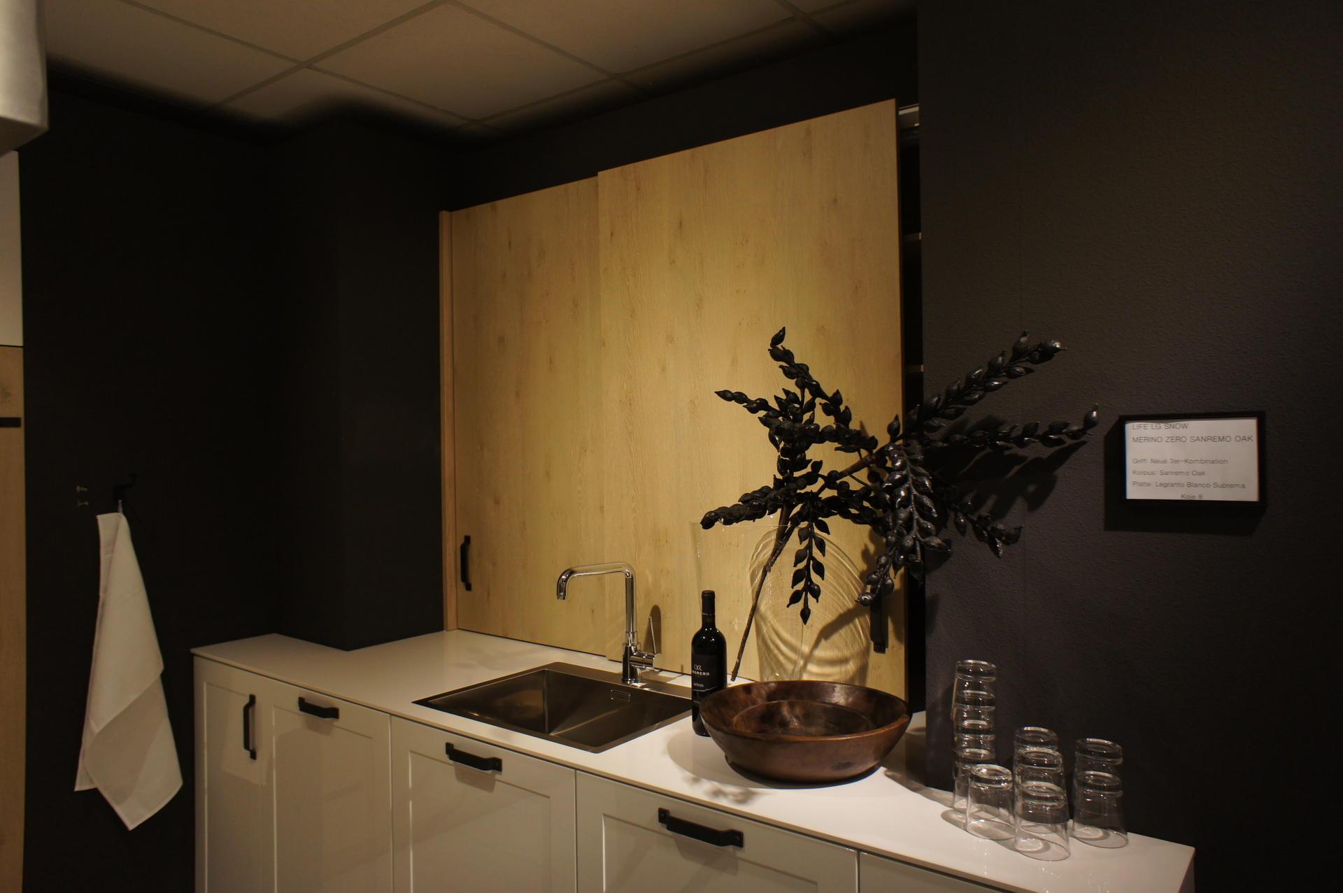 Кухня Schröder Sanremo Oak & Life Snow фото 2