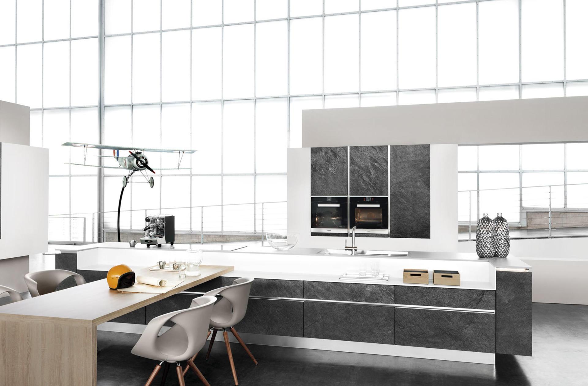Кухни Häcker, Stone veneer Black Star | 7030GL