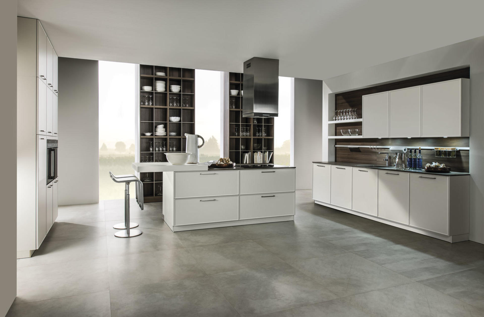 Кухни Häcker, White | 5020