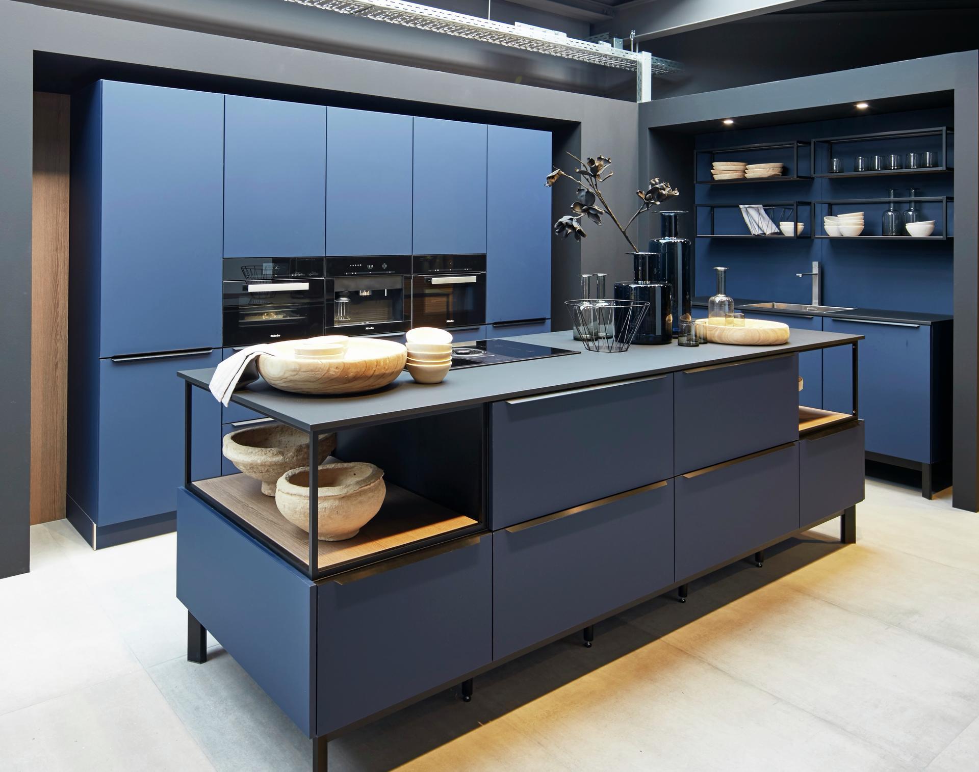 Кухни Schröder, Fenix midnight blue