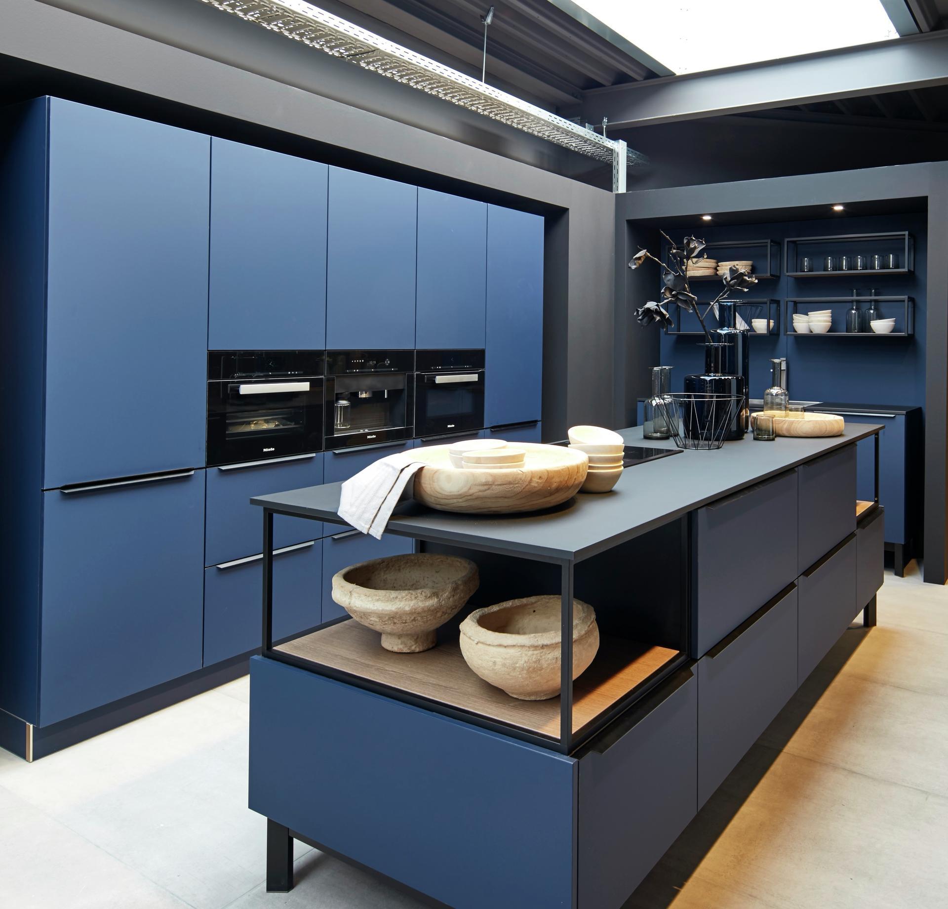 Кухни Schröder, Fenix midnight blue, фото 3