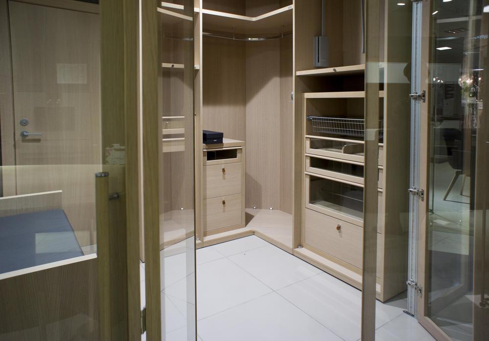 Carré, гардеробная со складными дверьми, фото 3